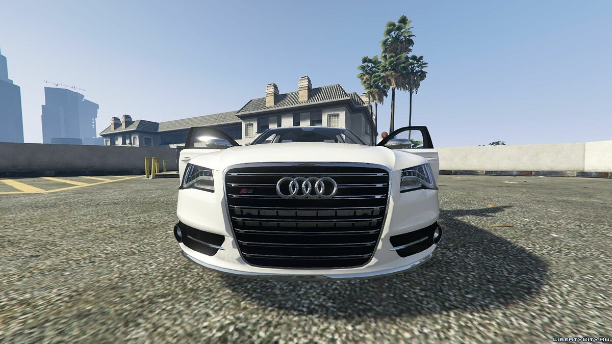 2013 Audi S8 4.0TFSI Quattro [Add-On / Replace] v1.7 для GTA 5 - скриншот #8