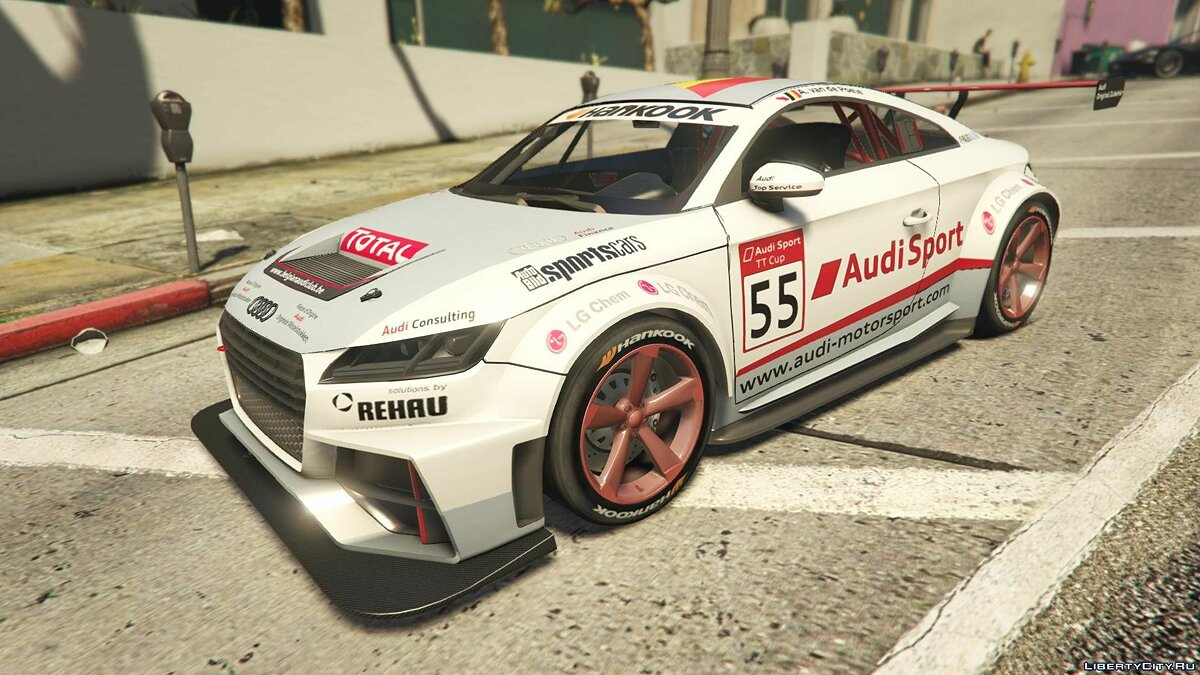 2015 Audi TT Cup [Add-On / Replace | Livery] для GTA 5 - скриншот #4