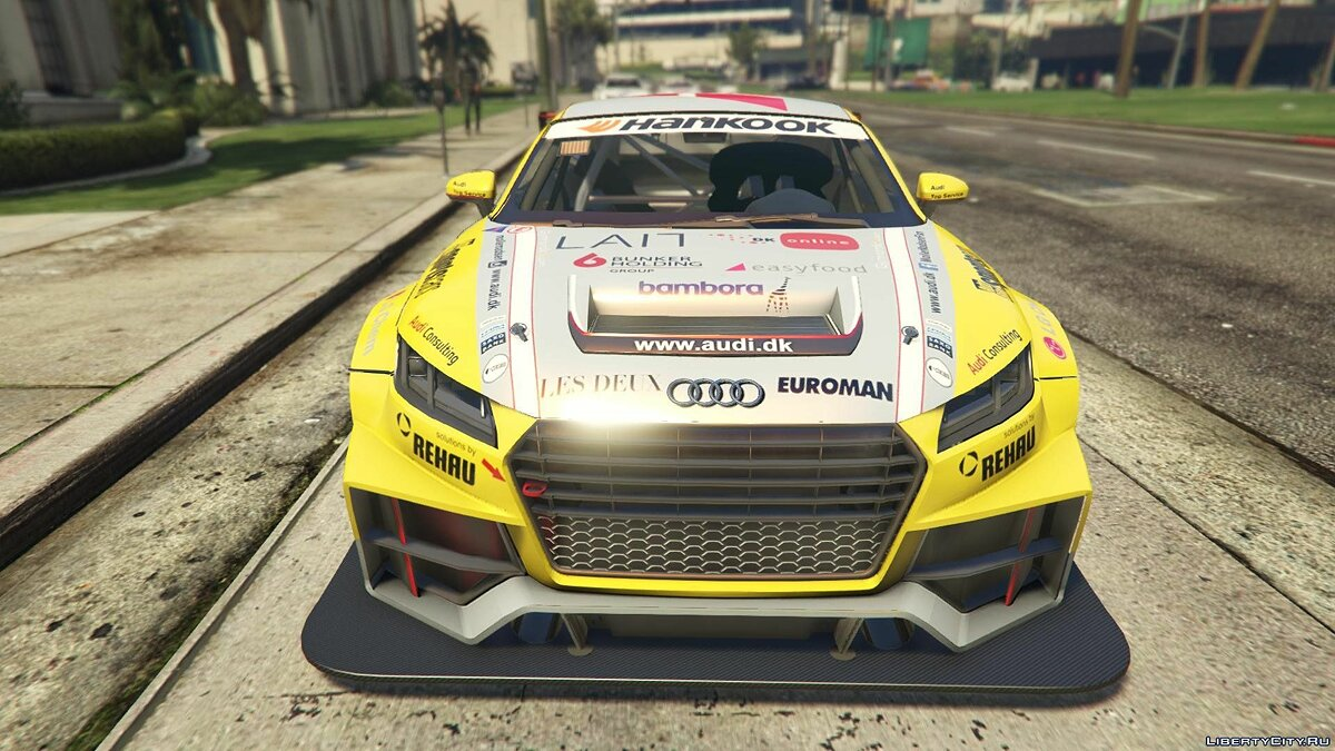 2015 Audi TT Cup [Add-On / Replace | Livery] для GTA 5 - скриншот #7