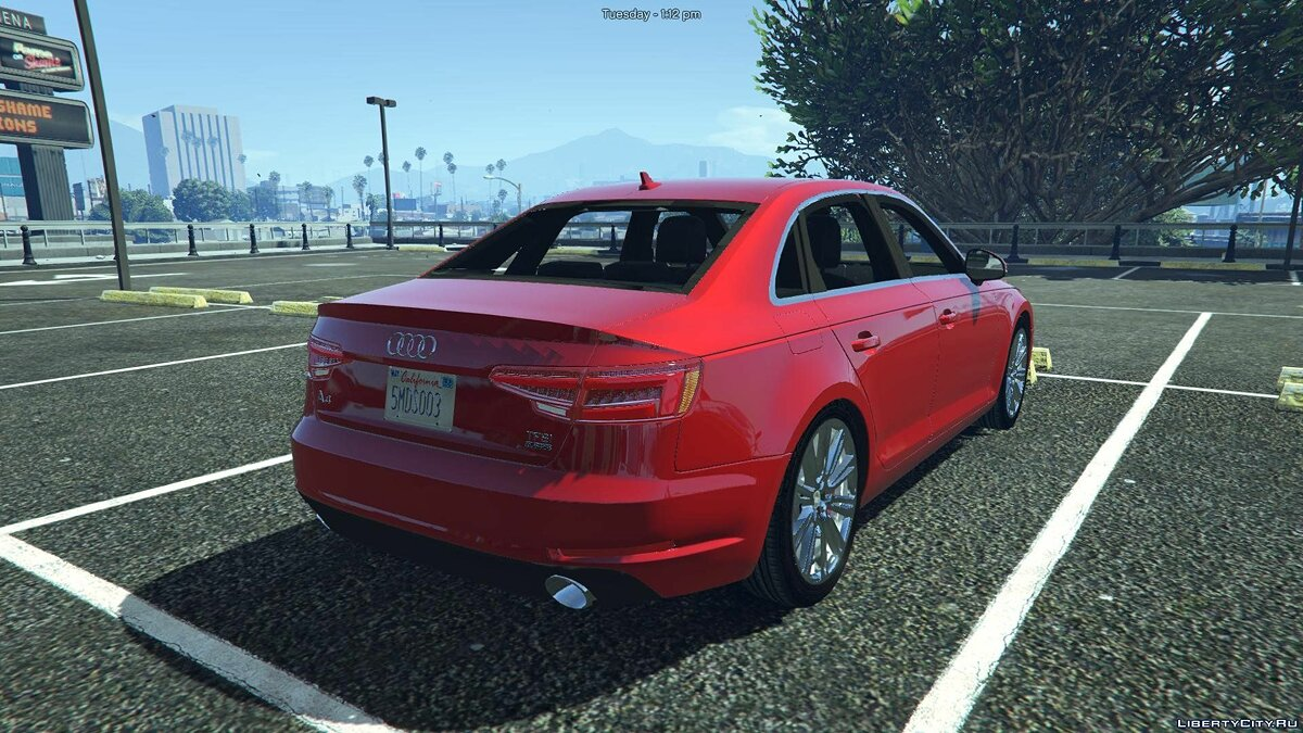 Audi A4 TFSI Quattro 2017 [Add-On / Replace] 1.1 для GTA 5 - скриншот #7