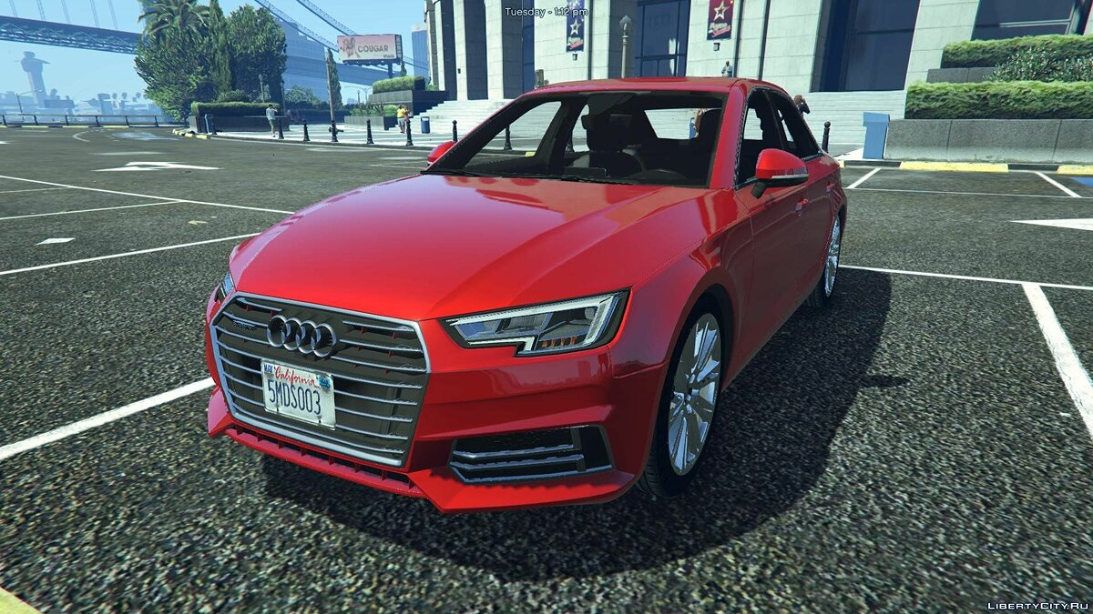 Audi A4 TFSI Quattro 2017 [Add-On / Replace] 1.1 для GTA 5 - скриншот #6