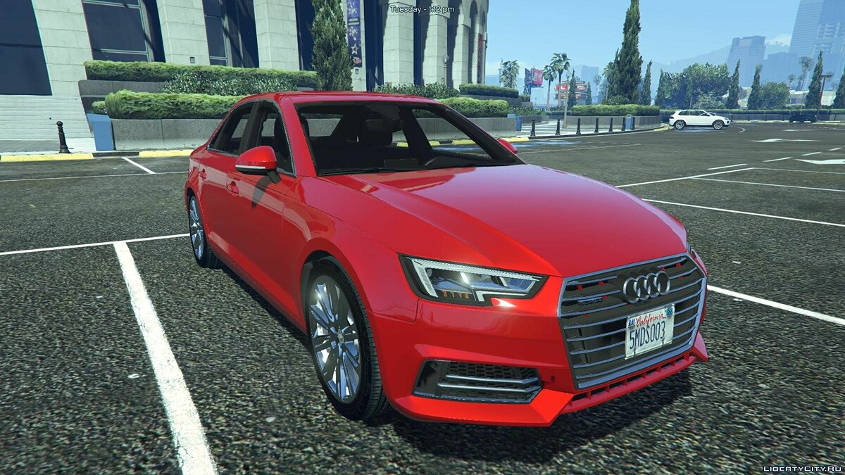 Audi A4 TFSI Quattro 2017 [Add-On / Replace] 1.1 для GTA 5 - скриншот #4