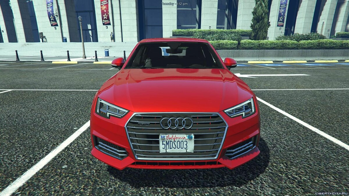 Audi A4 TFSI Quattro 2017 [Add-On / Replace] 1.1 для GTA 5