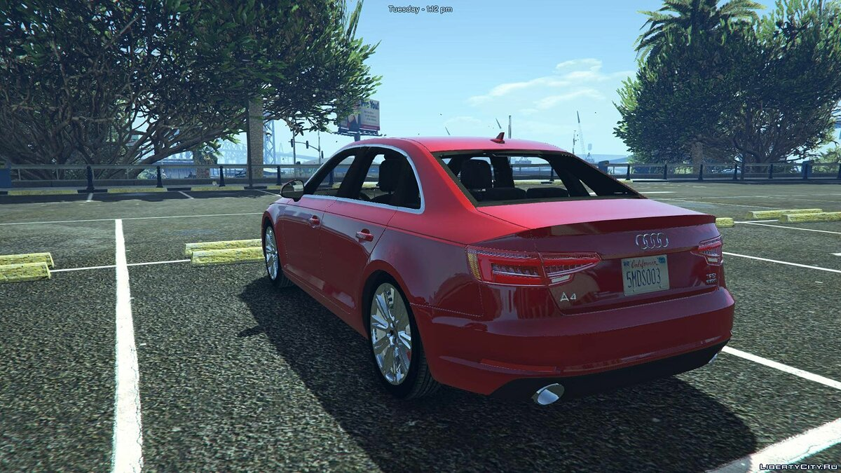 Audi A4 TFSI Quattro 2017 [Add-On / Replace] 1.1 для GTA 5 - скриншот #5