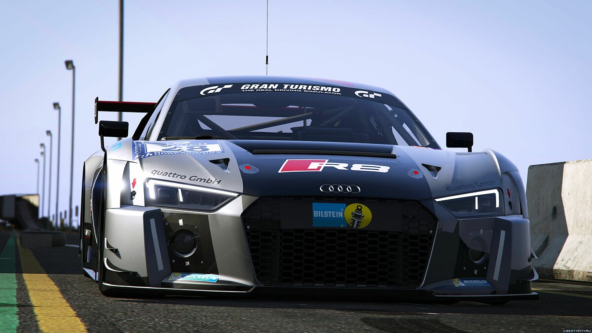 2016 Audi R8 LMS (Typ 4S) [Add-On] 1.0 для GTA 5 - скриншот #3