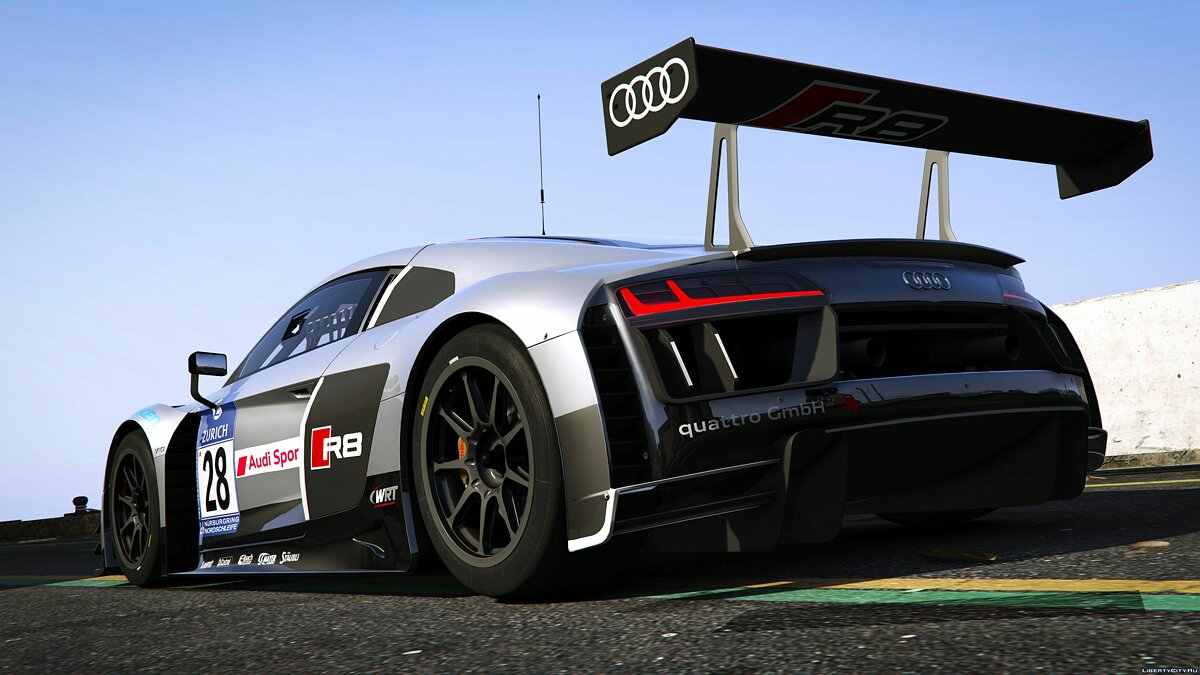 2016 Audi R8 LMS (Typ 4S) [Add-On] 1.0 для GTA 5 - скриншот #4