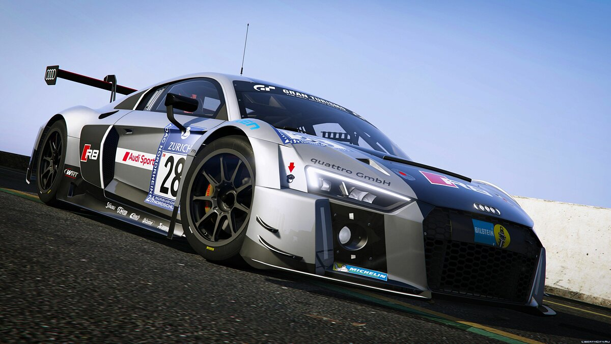 2016 Audi R8 LMS (Typ 4S) [Add-On] 1.0 для GTA 5