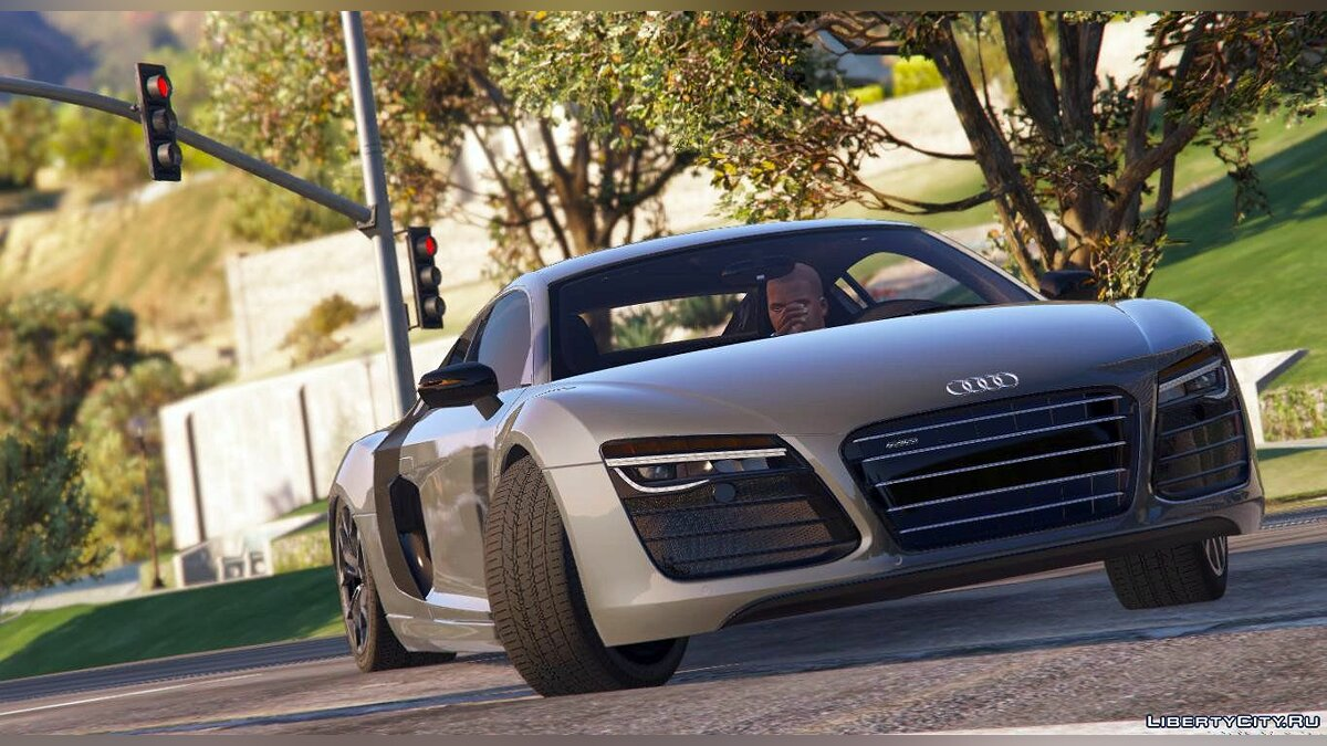 2013 Audi R8 5.2 FSI Quattro Plus [Replace] 1.0 для GTA 5