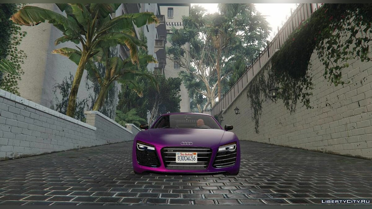 2013 Audi R8 5.2 FSI Quattro Plus [Replace] 1.0 для GTA 5 - скриншот #2