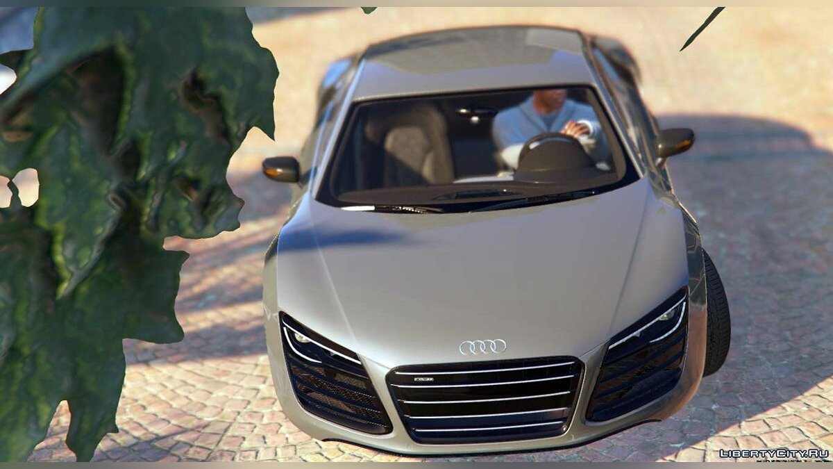 2013 Audi R8 5.2 FSI Quattro Plus [Replace] 1.0 для GTA 5 - скриншот #3