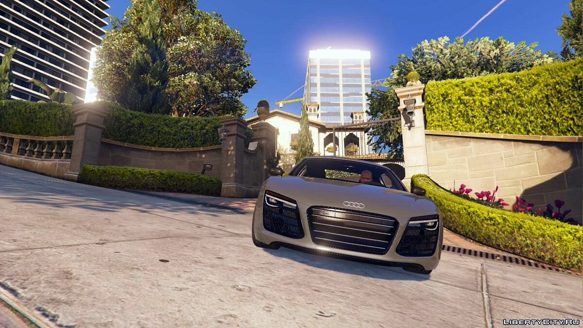 2013 Audi R8 5.2 FSI Quattro Plus [Replace] 1.0 для GTA 5 - скриншот #4