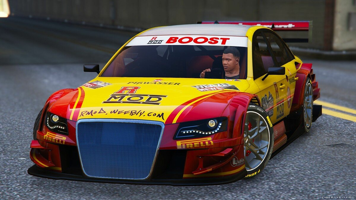 Audi Asano X4 Touring 2011 [DTM] [Add-On] для GTA 5