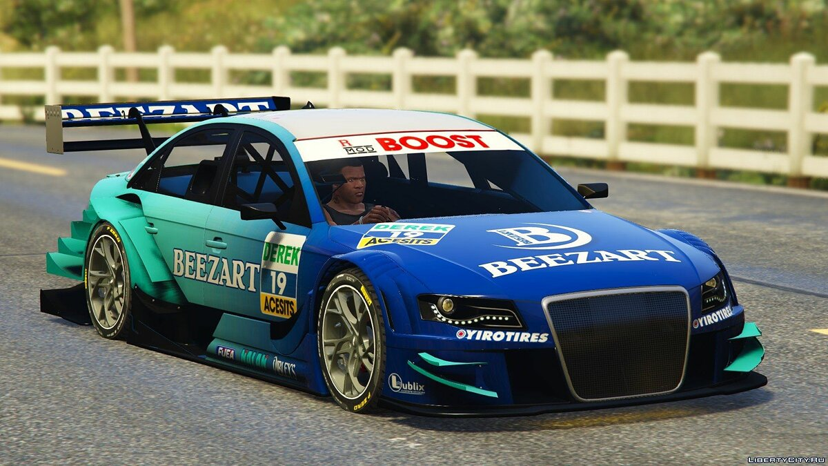 Audi Asano X4 Touring 2011 [DTM] [Add-On] для GTA 5 - скриншот #4