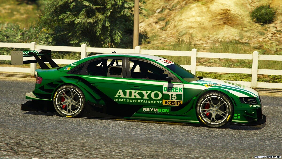 Audi Asano X4 Touring 2011 [DTM] [Add-On] для GTA 5 - скриншот #5