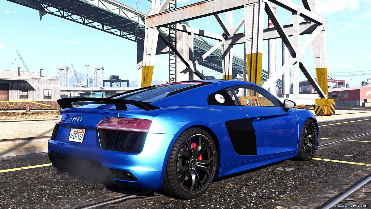 Audi R8 V10 Plus 2017 [Add-On / Replace | Animated | Template | Digital Dials & Analog] 1.1 для GTA 5 - скриншот #11