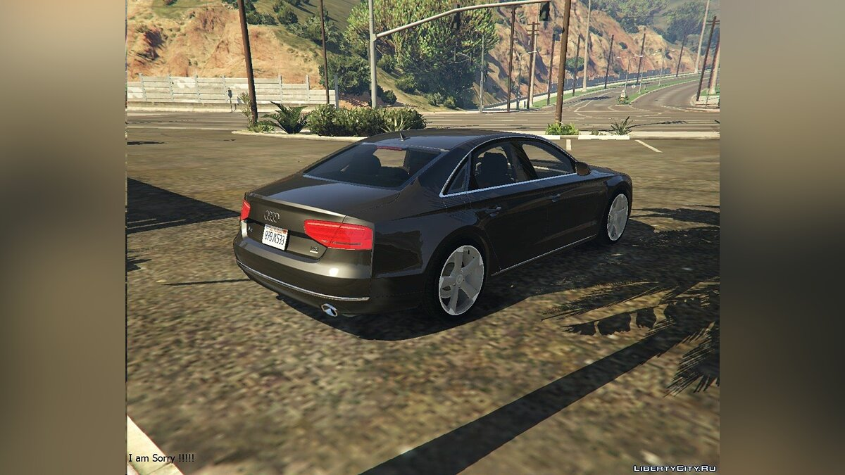 2010 Audi A8 FSI [Add-On / Replace] 2.0 для GTA 5 - скриншот #5