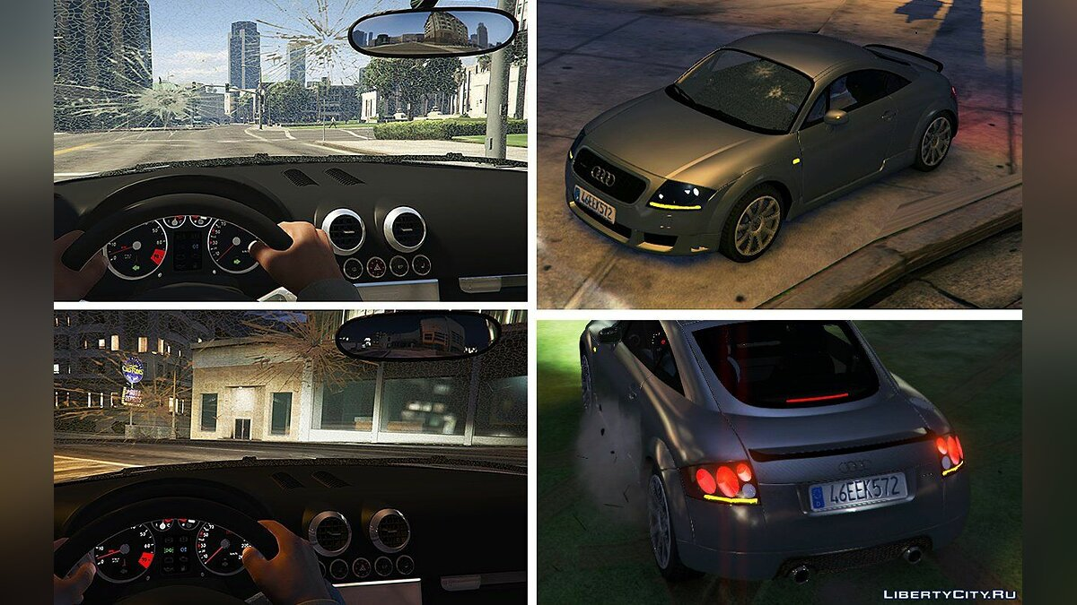 Audi TT Mk1 [Add-On / Replace] 1.11 для GTA 5 - скриншот #7