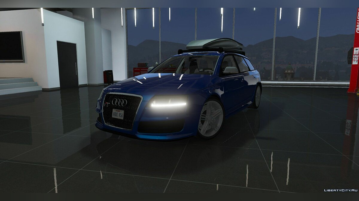 Audi RS6 Avant (Add-on/Replace/Extras) 1.0 для GTA 5