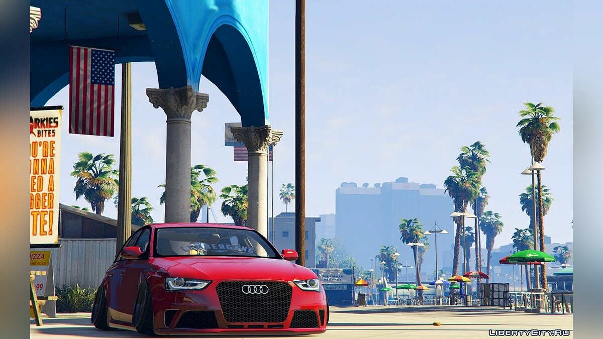 Audi RS4 [Stanced / Camber] для GTA 5