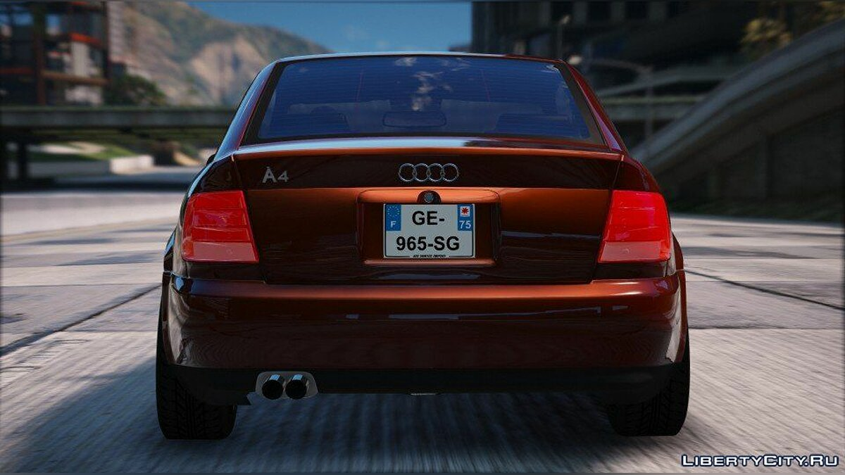 Машина Audi Audi A4 (Add-on / Replace) 1.1 для GTA 5