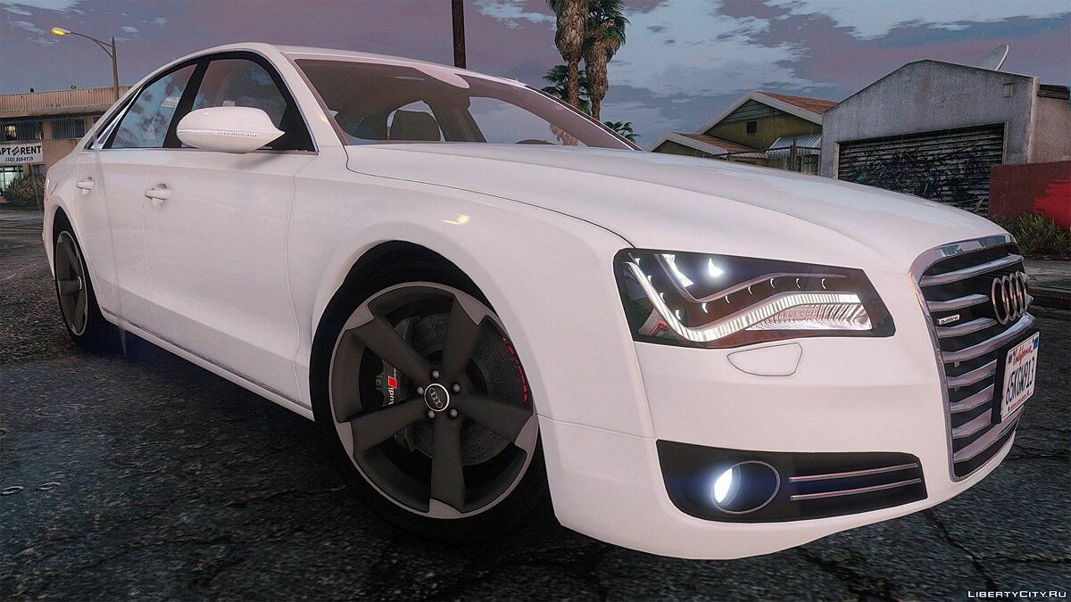 2010 Audi A8 FSI [Add-On / Replace] [FINAL] для GTA 5 - скриншот #6