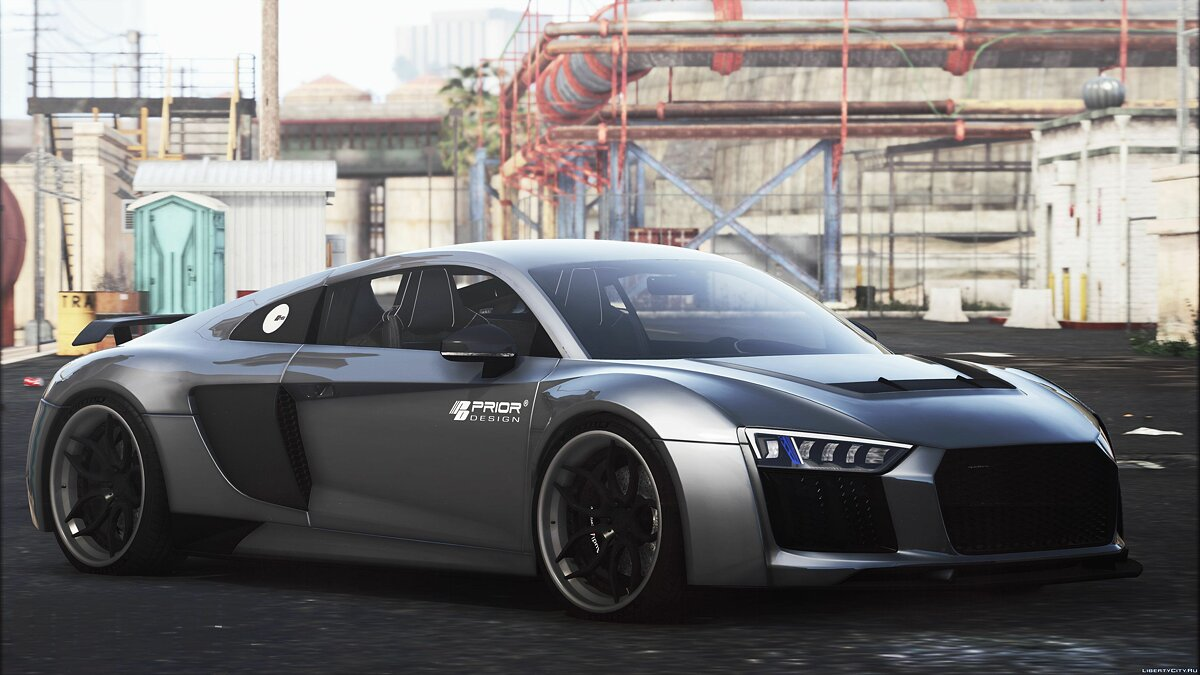Машина Audi Audi R8 Prior Edition [Add-On] для GTA 5