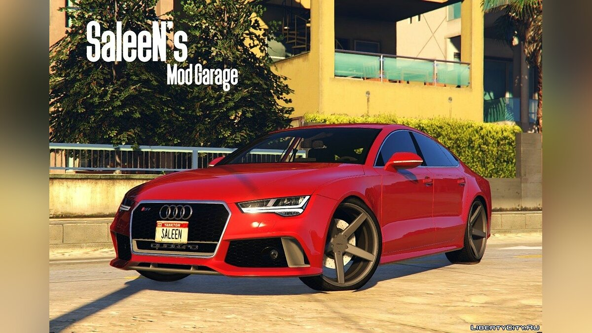 Audi RS7 Sportback 2015 [Replace] для GTA 5