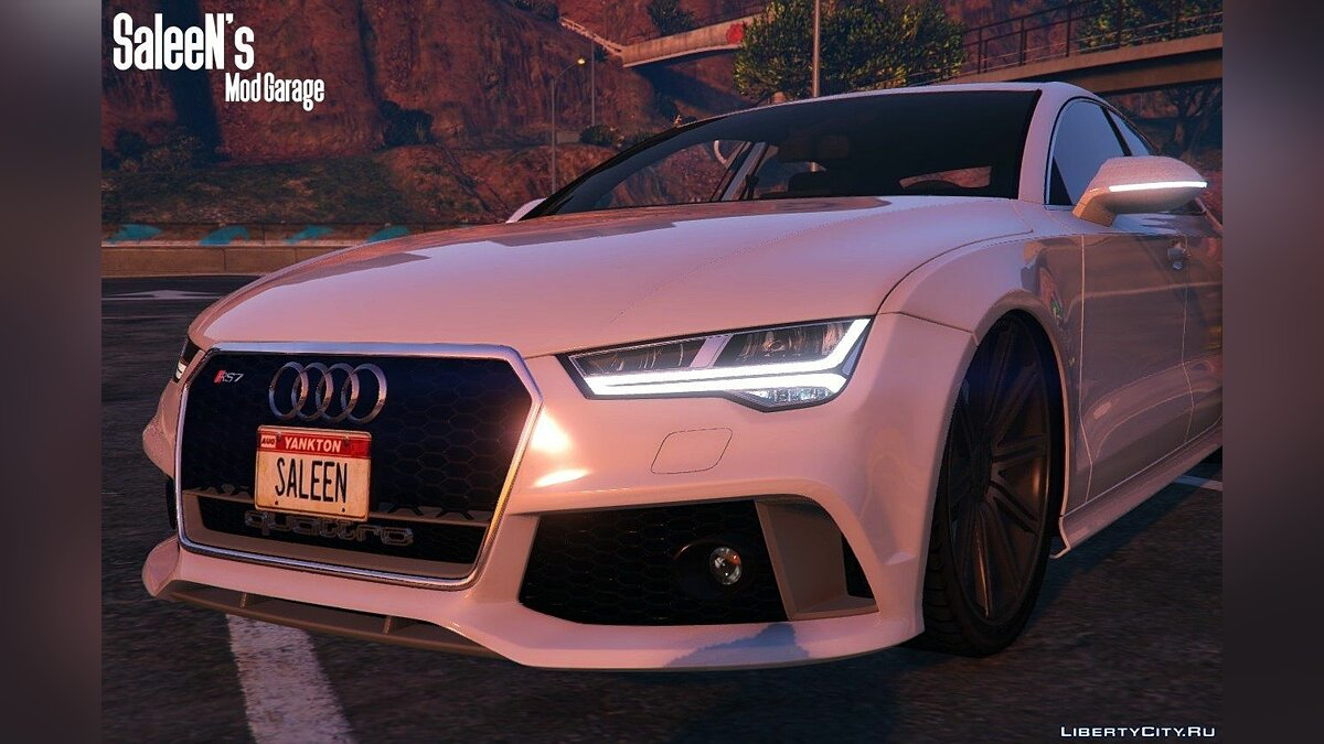 Audi RS7 Sportback 2015 [Replace] для GTA 5 - скриншот #3