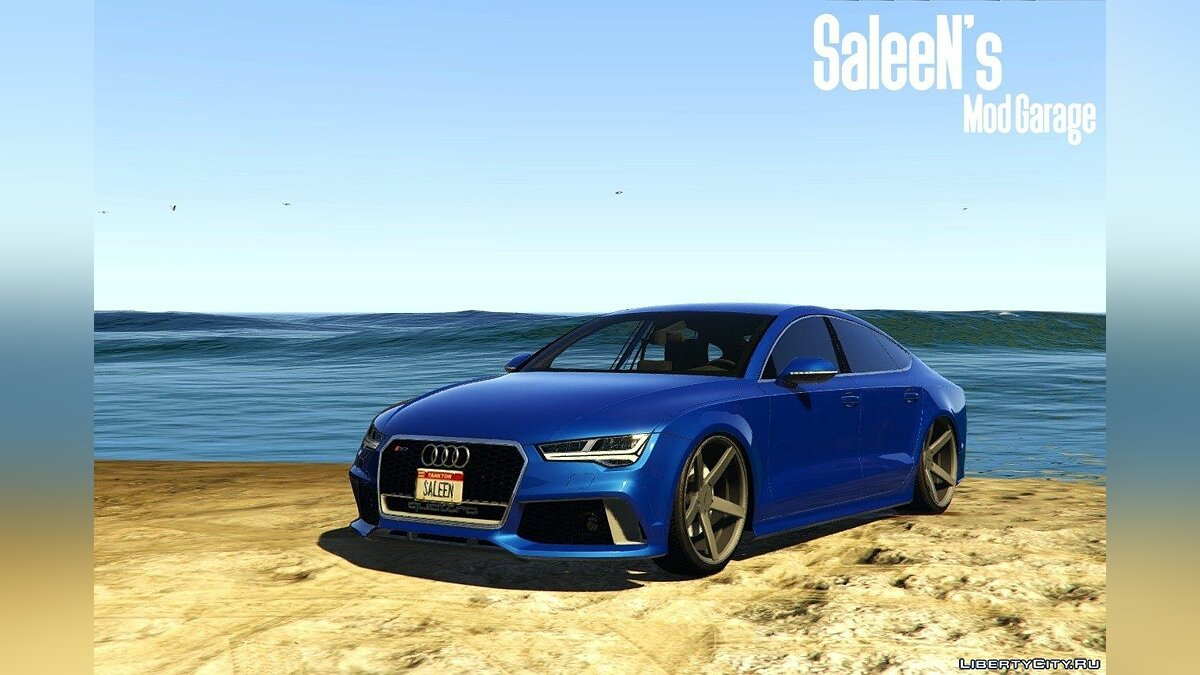 Audi RS7 Sportback 2015 [Replace] для GTA 5 - скриншот #4