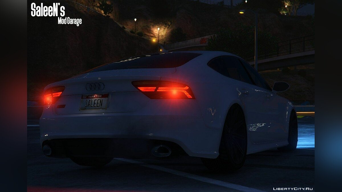 Audi RS7 Sportback 2015 [Replace] для GTA 5 - скриншот #5