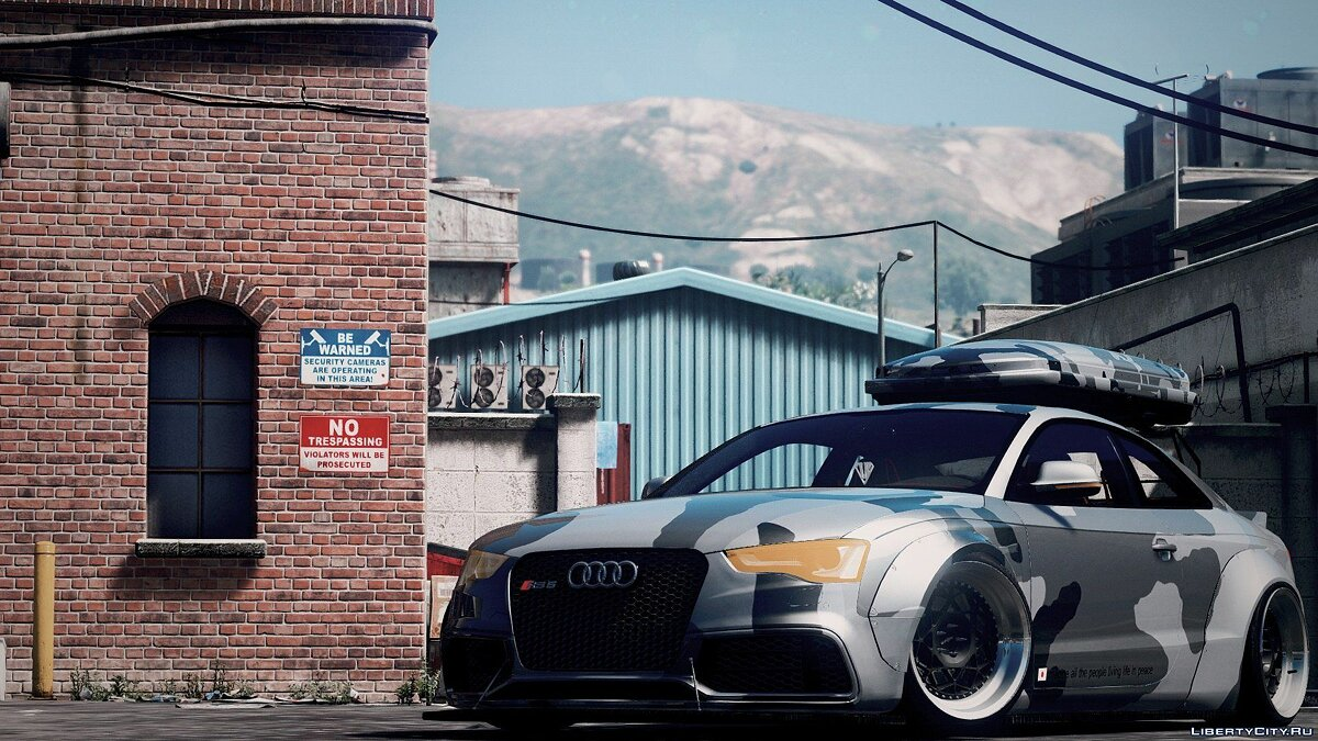 Машина Audi Audi Rs5 Libertywalk [ADDON-REPLACE] 1.0 для GTA 5