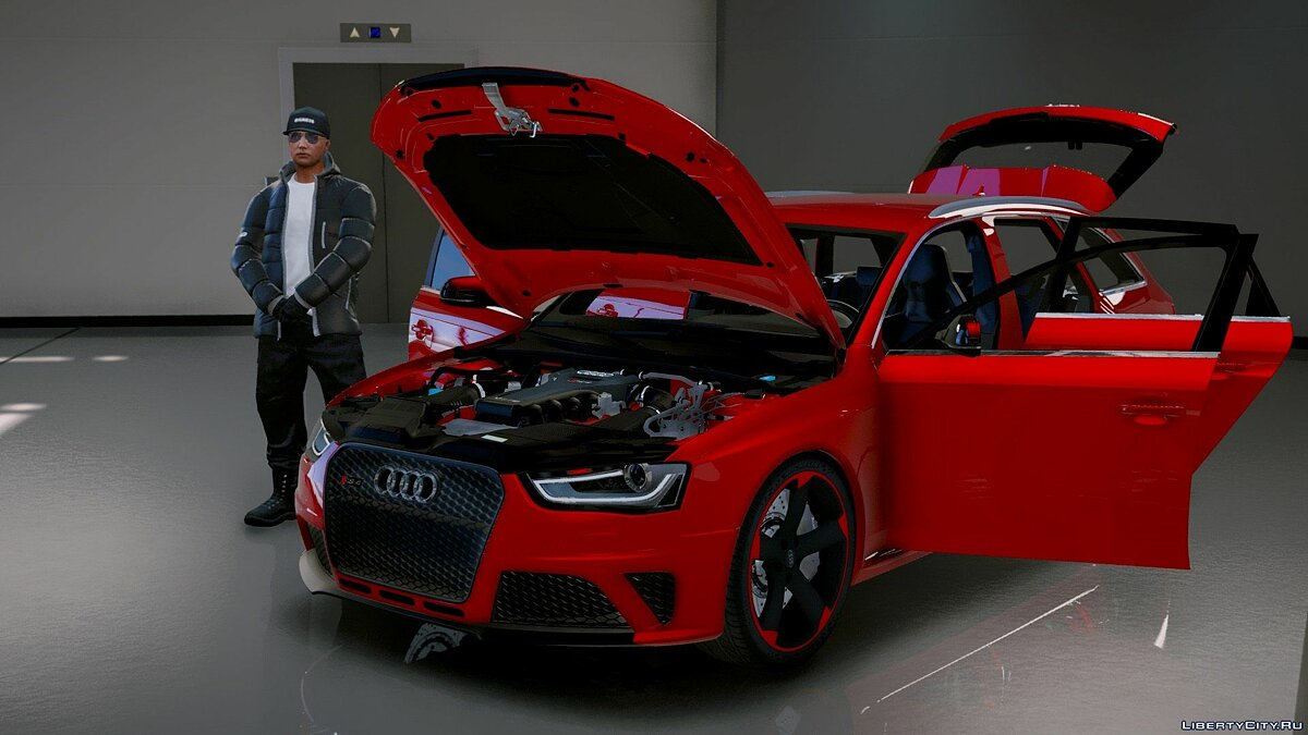 Audi RS4 Avant 2013 [Add-On | Tuning] 1.9 для GTA 5 - скриншот #2