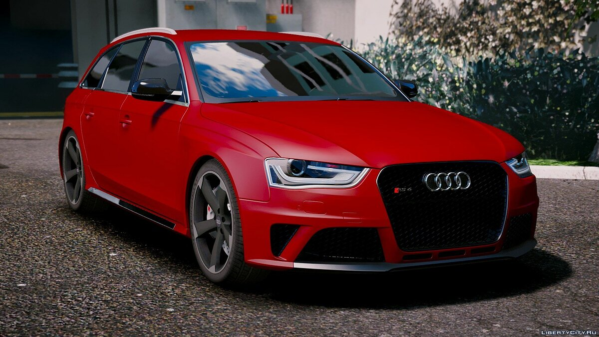 Audi RS4 Avant 2013 [Add-On | Tuning] 1.9 для GTA 5 - скриншот #3