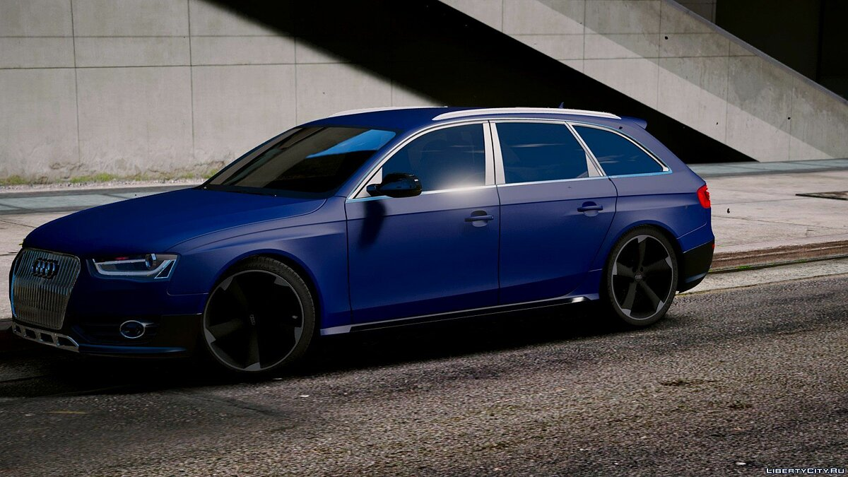 Audi RS4 Avant 2013 [Add-On | Tuning] 1.9 для GTA 5 - скриншот #5