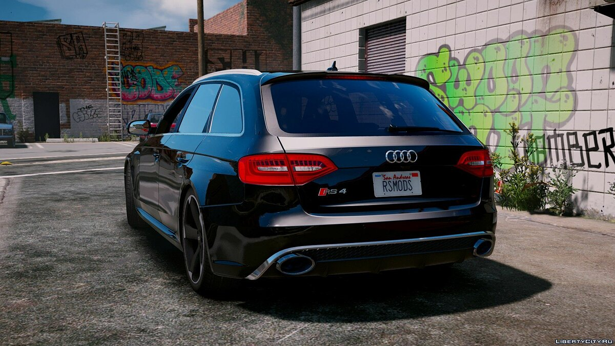 Audi RS4 Avant 2013 [Add-On | Tuning] 1.9 для GTA 5 - скриншот #7