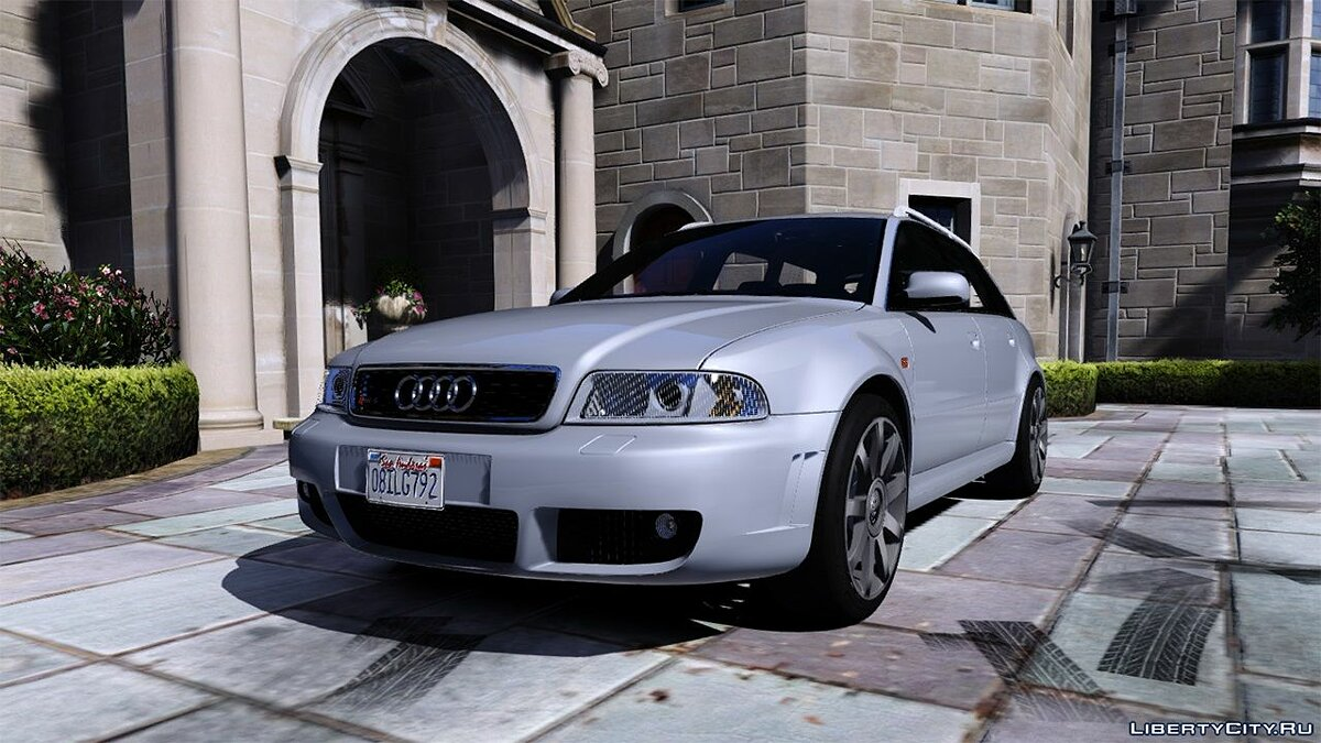 ��ашина Audi Audi RS4 2001 [Add-On / Replace] 1.1 для GTA 5