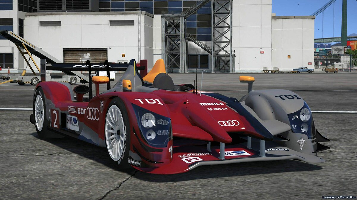 2011 Audi R15++ TDI #2 [Add-On / Replace] 1.0 для GTA 5