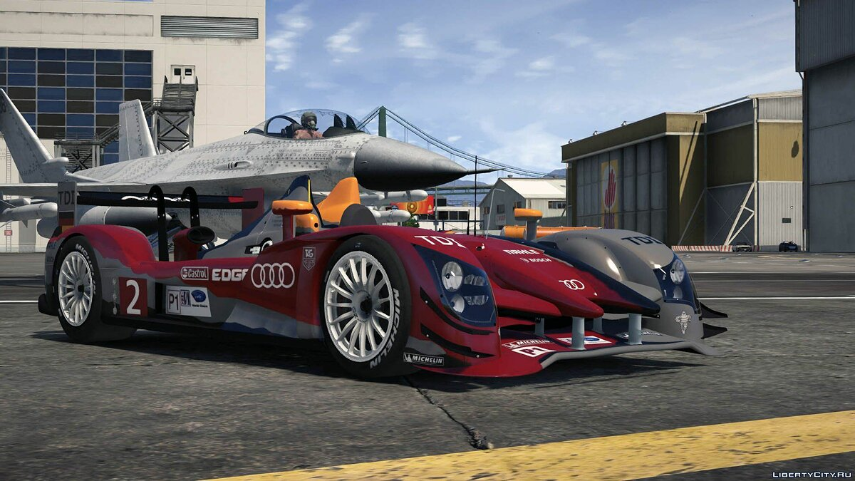 2011 Audi R15++ TDI #2 [Add-On / Replace] 1.0 для GTA 5 - скриншот #6