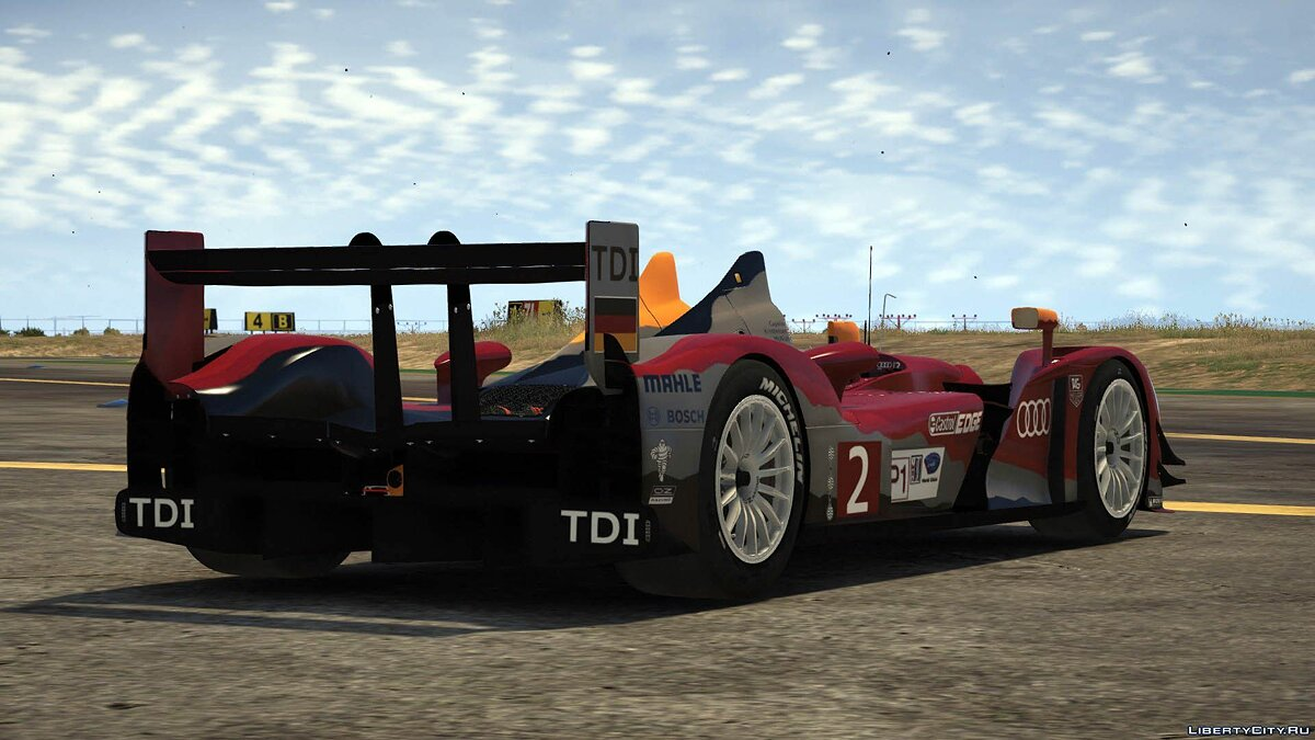 2011 Audi R15++ TDI #2 [Add-On / Replace] 1.0 для GTA 5 - скриншот #7