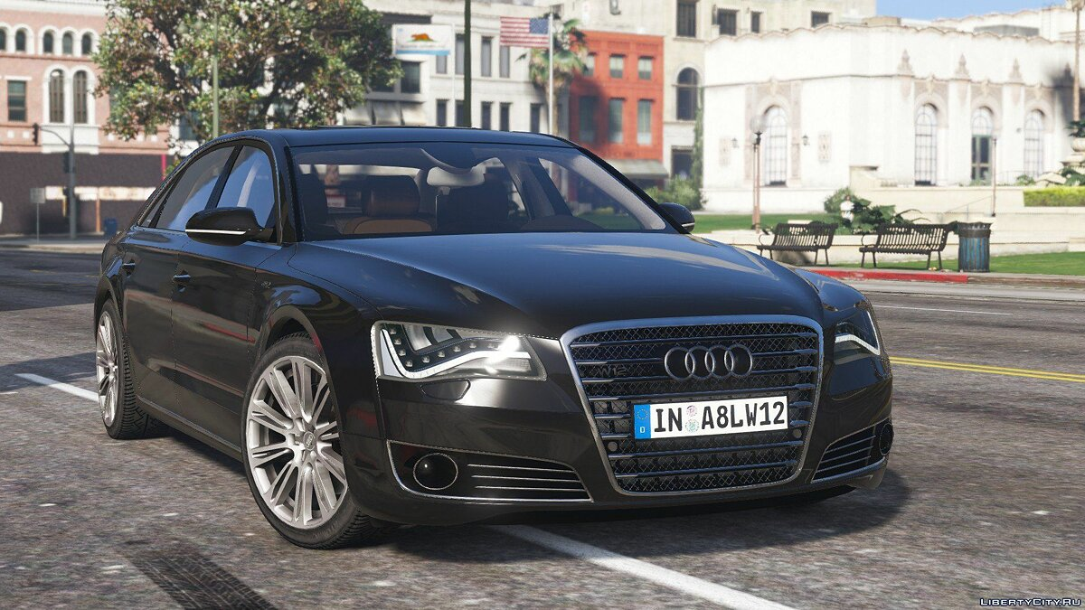 2010 Audi A8 L W12 Quattro [Add-On] 1.1 для GTA 5