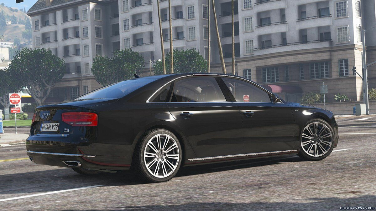 2010 Audi A8 L W12 Quattro [Add-On] 1.1 для GTA 5 - скриншот #4