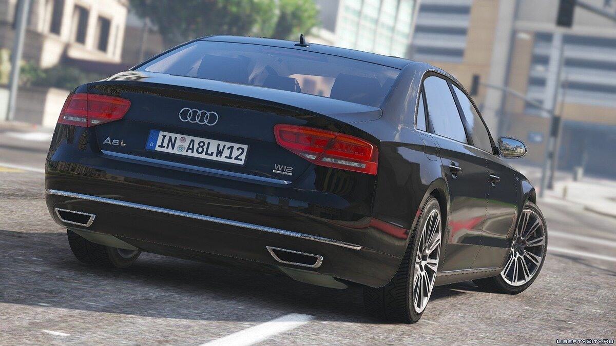 2010 Audi A8 L W12 Quattro [Add-On] 1.1 для GTA 5 - скриншот #5