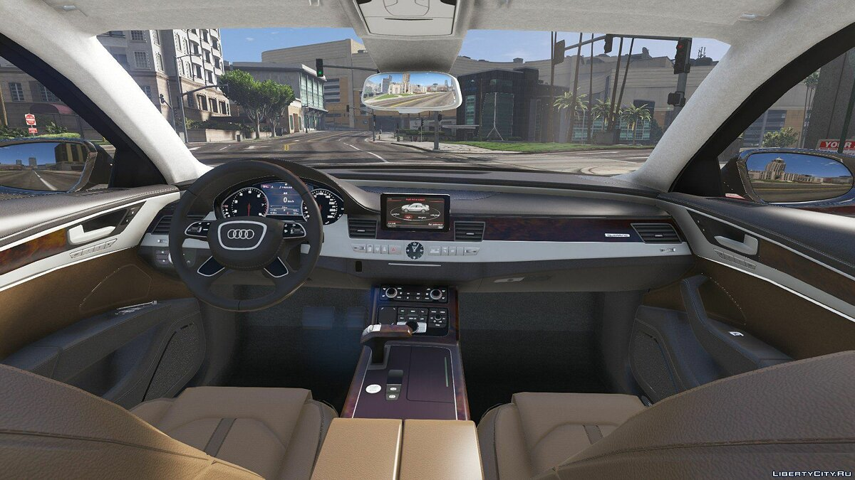 2010 Audi A8 L W12 Quattro [Add-On] 1.1 для GTA 5 - скриншот #6