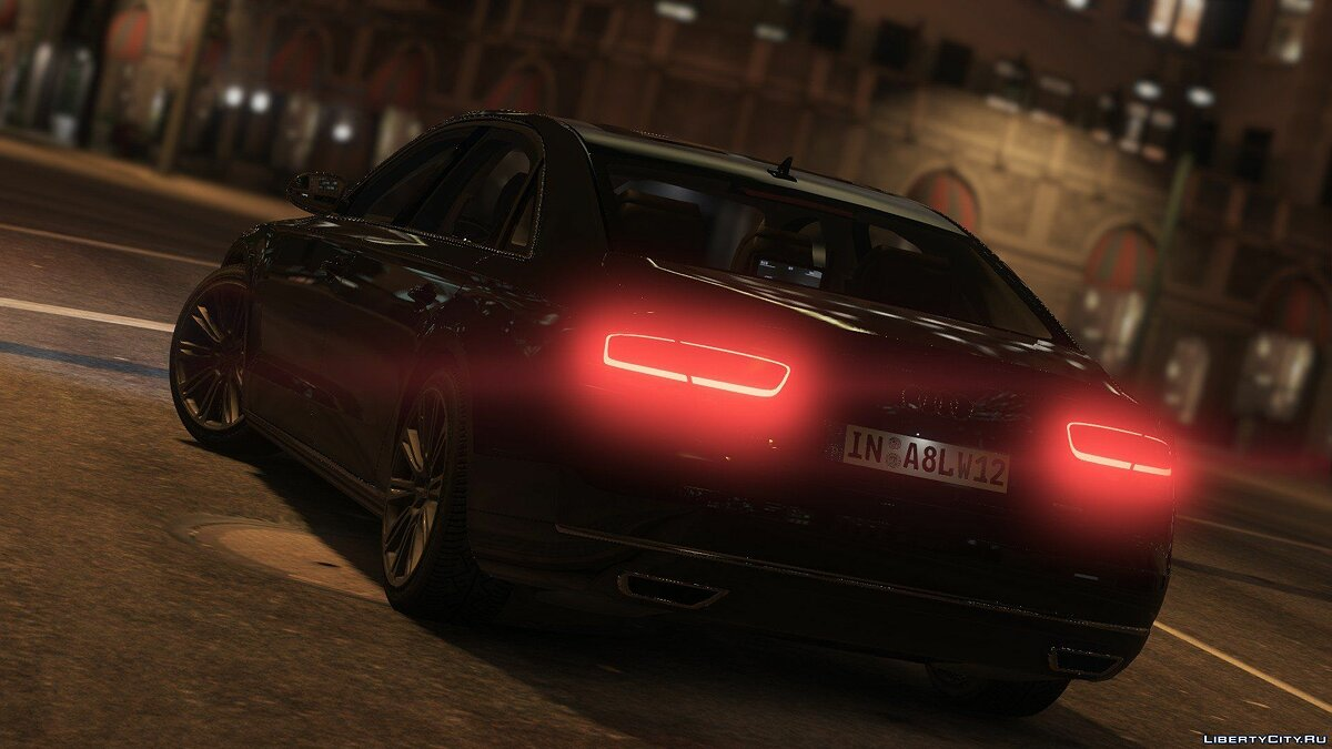 2010 Audi A8 L W12 Quattro [Add-On] 1.1 для GTA 5 - скриншот #9