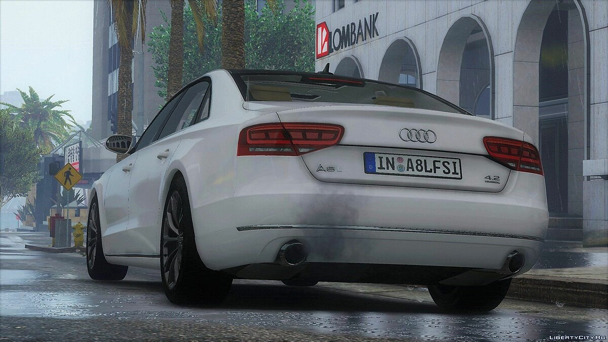 2010 Audi A8 L 4.2 FSI Quattro (D4) [Add-On | tuning] 1.0 для GTA 5 - скриншот #2