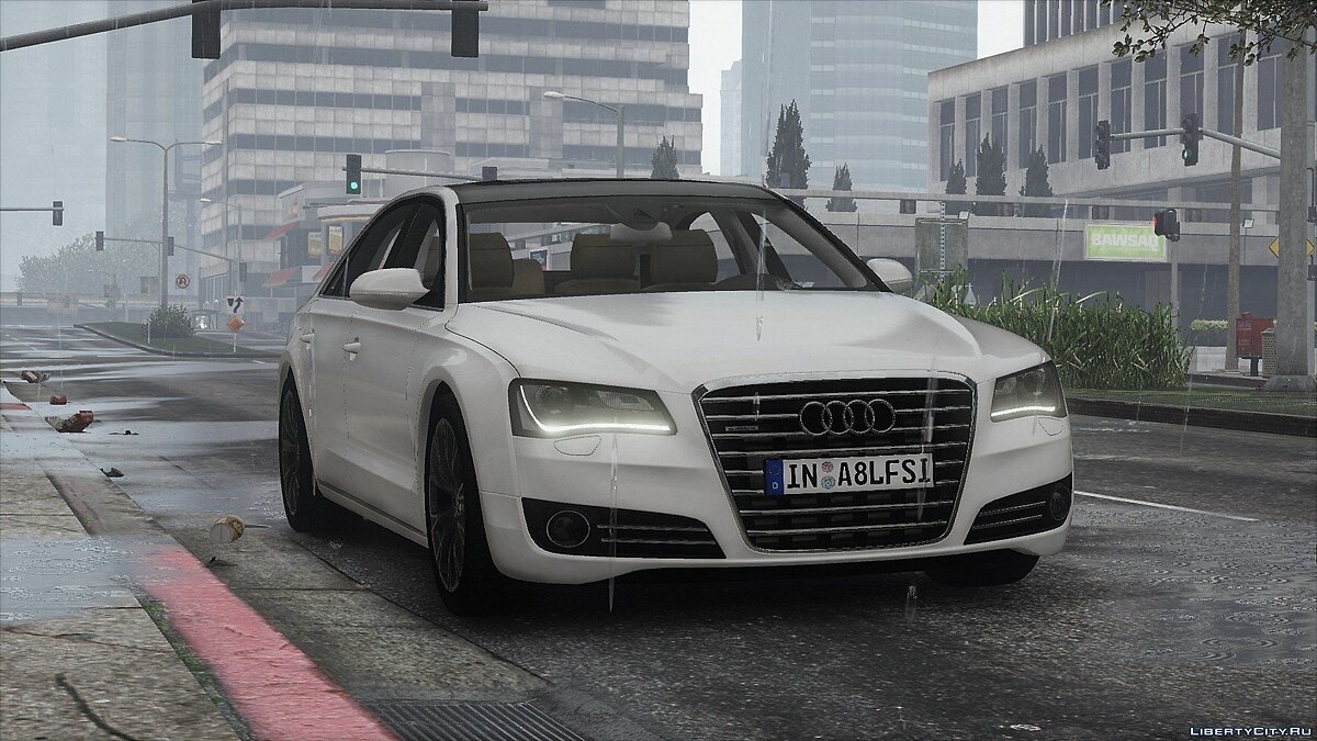 2010 Audi A8 L 4.2 FSI Quattro (D4) [Add-On | tuning] 1.0 для GTA 5 - скриншот #5