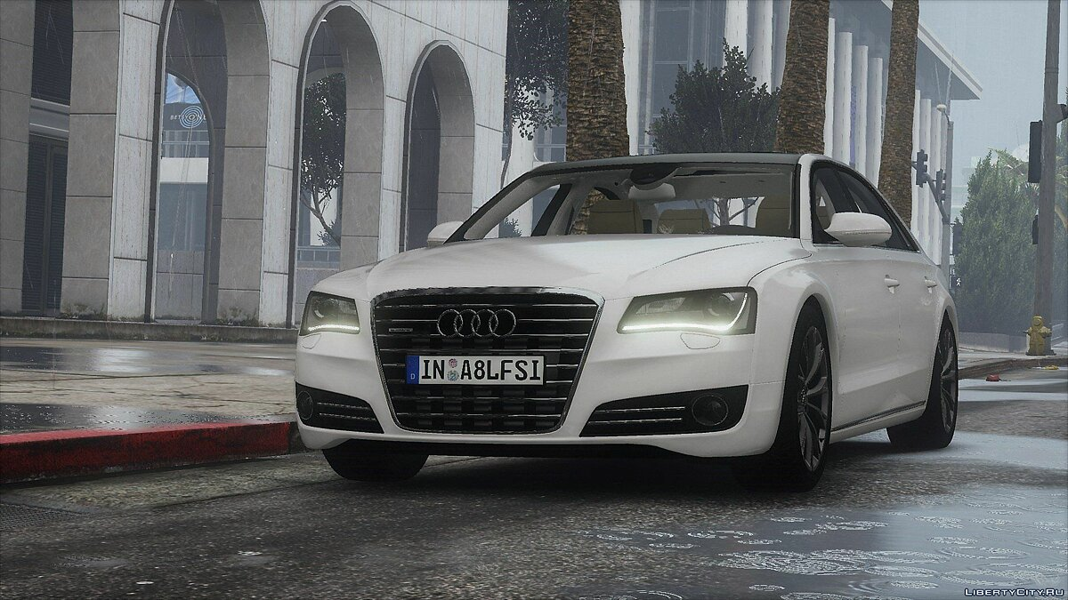 2010 Audi A8 L 4.2 FSI Quattro (D4) [Add-On | tuning] 1.0 для GTA 5 - скриншот #3