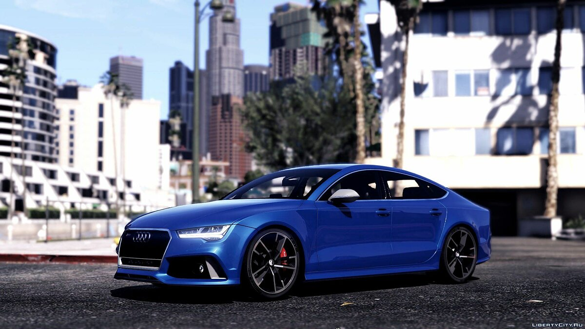 ��ашина Audi 2015 Audi RS7 Sportback [Add-On / Replace] 1.2 для GTA 5