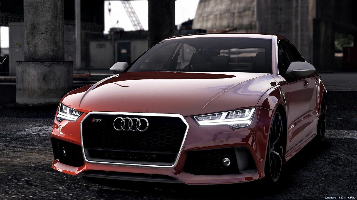 2015 Audi RS7 Sportback [Add-On / Replace] 1.2 для GTA 5 - скриншот #8