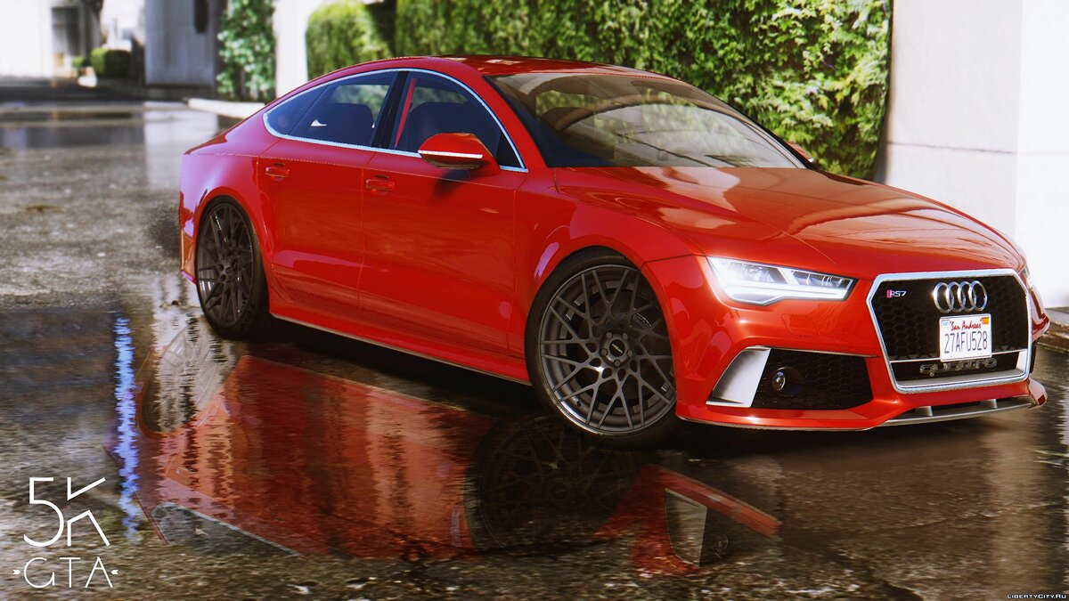 2015 Audi RS7 Sportback [Add-On / Replace] 1.2 для GTA 5 - скриншот #9